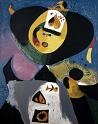 Joan Photo Posters - Miro: Portrait No. 1, 1938 Poster by Granger