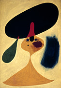 Miro Prints - Miro: Young Girl, 1935 Print by Granger