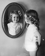 Number 3 Photos - Mirror Girl by Fpg