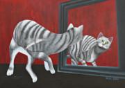 Mirror Image Print by Jutta Maria Pusl