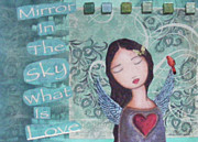 Christina Mixed Media - Mirror in the Sky by Christina Fajardo