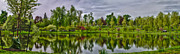 After The Rain Photo Prints - Mirror Lake Print by Chuck Alaimo