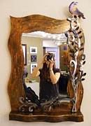 Mirror Sculptures - Mirror Mirror by Karman Rheault