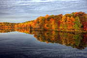 Glassy Art - Mirror Mirror On The Fall by Edward Kreis
