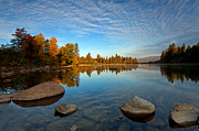 Spokane River Prints - Mirror Mirror Print by Reflective Moments  Photography and Digital Art Images