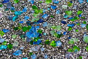 Sea Glass Posters - Misc 0005 Poster by Carol Ann Thomas