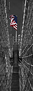Brooklyn Bridge Posters - Misc 0025 Poster by Carol Ann Thomas