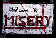 Misery Posters - Misery Poster by Skip Willits