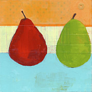 Pear Originals - Mismatched Pear by Laurie Breen