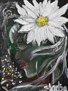 Miss Daisy Print by Sladjana Endt