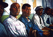 Men Pastels Posters - Miss Evers Boys Poster by Curtis James