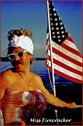 4th July Metal Prints - Miss Firecracker Metal Print by Michael Durst