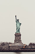 Iconic Design Prints - Miss Liberty Print by Benjamin Matthijs