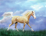 Palomino Prints - Miss Priss Print by Barbara Hymer