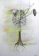 Ribs Mixed Media - Missing Limbs by Ben Jackson