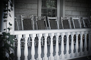 Rocking Chairs Framed Prints - Missing you Framed Print by Kelly Rader