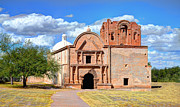 Mission San Javier Del Bac - Mission at Tumacacori by Donna Van Vlack