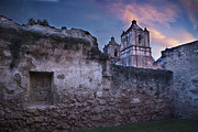 Church Ruins Framed Prints - Mission Concepcion Early Morning Framed Print by Melany Sarafis
