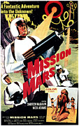 1968 Movies Posters - Mission Mars, Darren Mcgavin, 1968 Poster by Everett