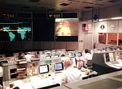 Tntar Prints - Mission Operations Control Room - Print by Everett