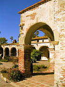 Land Scape Digital Art - Mission San Joan Capistrano by Azadeh Sarvi