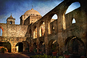 Patio Prints - Mission San Jose Print by Melany Sarafis