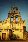 Historical Buildings Posters - Mission San Juan Poster by Iris Greenwell