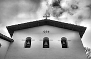 San Luis Obispo Framed Prints - Mission San Luis Obispo I Framed Print by Steven Ainsworth