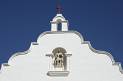 Historical Buildings Prints - Mission San Luis Rey 1 Print by Bob Christopher