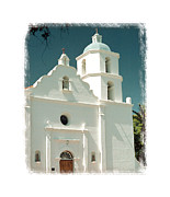 Luis Digital Art - Mission San Luis Rey de Francia - I by Ken Evans