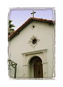 Mission San Rafael Arcangel - I Print by Ken Evans