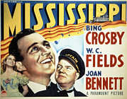 Crosby Photos - Mississippi, Bing Crosby, Joan Bennett by Everett