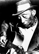 Looking Down Framed Prints - Mississippi John Hurt, Circa 1964 Framed Print by Everett