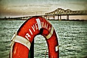 Riverwalk Prints - Mississippi River Print by Jim Albritton