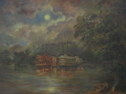 Evening Paintings - Mississippi by Tigran Ghulyan