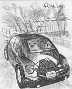 Charcoal Car Posters - Missouri 360KWJ Poster by Horacio Prada