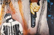Spray Paint Originals - Mistakes are Made and Hearts are Broken by Iosua Tai Taeoalii