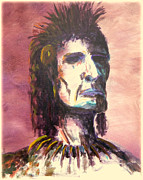 Comanche Paintings - Misunderstood Native by Kenneth McGarity