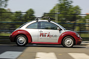 Mit Prints - Mit Agelab smartcar Vehicle Print by Volker Steger