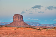 Mitchell Butte Photos - Mitchell Butte in Monument Valley by Clarence Holmes