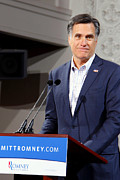 Mitt Paintings - Mitt Romney No. 6 by Robert  SORENSEN