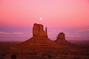 Featured Art - Mitten Buttes At Dawn by Fuse