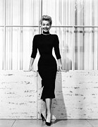 1950s Fashion Framed Prints - Mitzi Gaynor, Ca. 1950s Framed Print by Everett