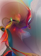 Abstract - Mixed Emotions by David Lane