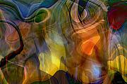 Emotions Digital Art Prints - Mixed emotions Print by Linda Sannuti
