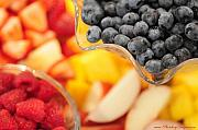 Photohogdesigns Prints - Mixed Fruit 6904 Print by PhotohogDesigns