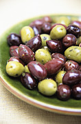(olea Europaea) Photos - Mixed Olives by Veronique Leplat