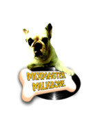 Print-on-demand Digital Art Posters - Mixmaster Milkbone Poster by Lee Brown