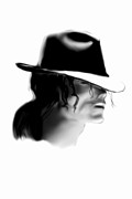 Mj Digital Art Prints - Mj Print by Alan Jose