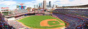 Minnesota Twins Photos - MN Twins Stadium Pan by Michael Klement